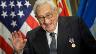 Images Kissing Kissinger and other Trump pivots - BBC News 5