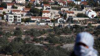 Израильское поселение на палестинской территории