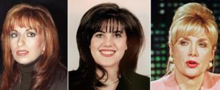 Paula Jones, Monica Lewinsky, Gennifer Flowers