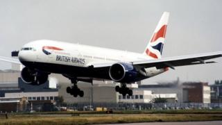 British Airways Boeing 777 (file picture)