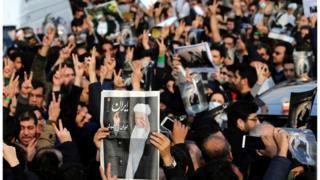 تشييع الرئيس الإيراني السابق رفسنجاني