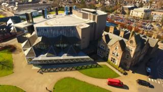 The Eden Court Theatre in Inverness