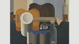 لوکوربوزیه نقاشی و مجسمه سازی هم میکرد. این تابلو را در سال ۱۹۲۰ کشیده، زمانی که هنوز با نام واقعی خود شارل ادوار ژانره کار میکرد