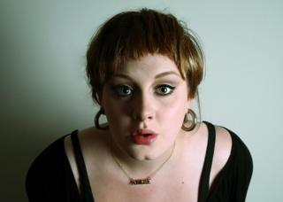 Adele photobooth picture, 2007