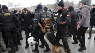 Полиция Анкары