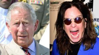 Prince Charles and Ozzy Osbourne