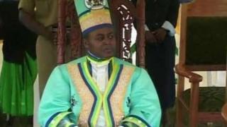 Mfalme wa Rwenzururu Wesley Mumbere