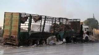 Генсек ООН создаст комиссию по расследованию атаки на гумконвой в Сирии