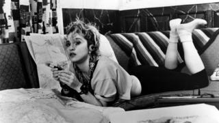 DESPERATELY SEEKING SUSAN, Madonna, 1985,
