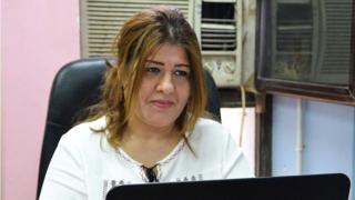 الصحفية العراقية أفراح شوقي
