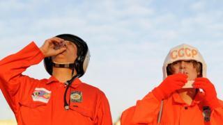 Відзначання 50-ої річниці першого польоту в космос