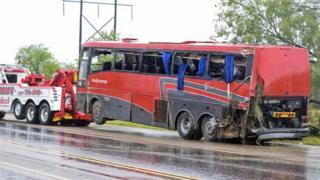 Deadly casino coach crash in Texas
