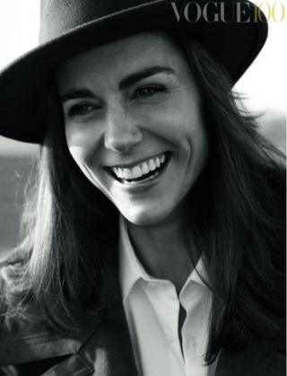 Duchess of Cambridge on Vogue cover...