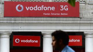 Vodafone India store