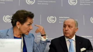 UN climate chief