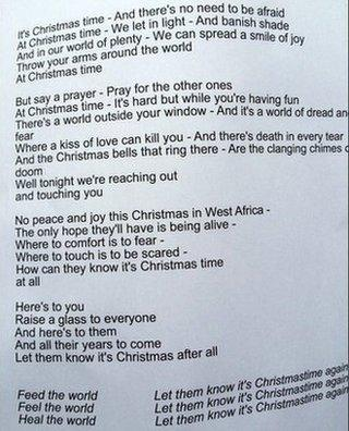 Where Are You Christmas Lyrics.Are The Band Aid Lyrics Really That Controversial Bbc