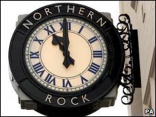Northern Rock branch sign