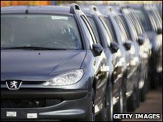 Peugeot production line