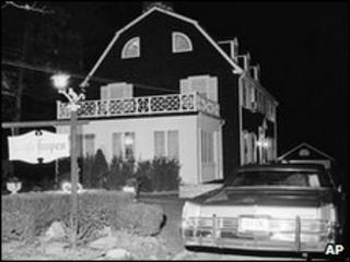 File picture of the Amityville house after the shootings in 1974