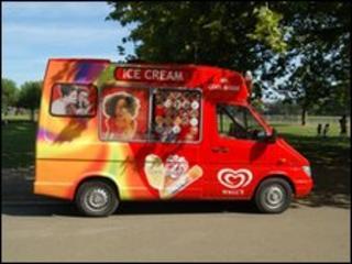 Ice-cream van