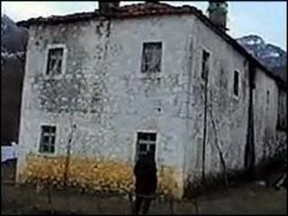 "The ""Yellow House"" in Albania where organs were alleged to have been removed"