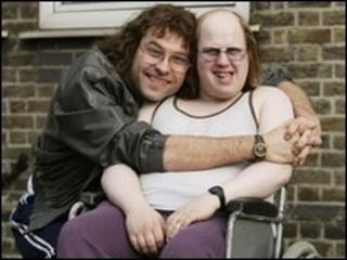 Walliams and Lucas in Little Britain