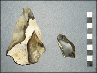 Flint tools (University of Southampton)