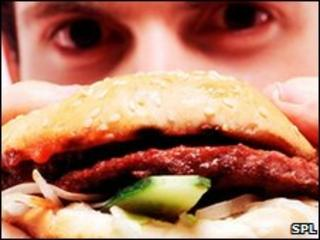 Burger 'link' to asthma