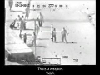 Still from the leaked US military video
