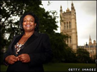 Diane Abbott after getting through to the ballot