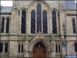 Hexham's Trinity Methodist Church in Northumberland