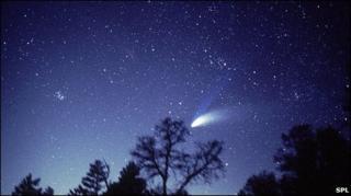 Hale-Bopp comet