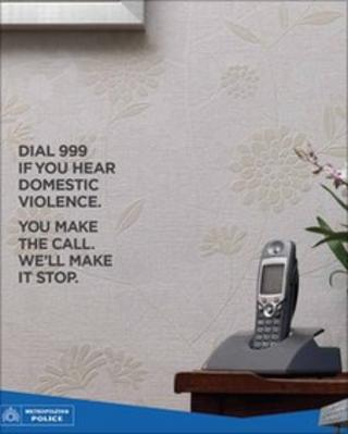 Domestic violence advert