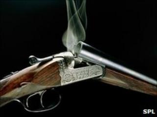 A smoking shotgun