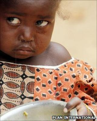 Child in Niger (Plan International)