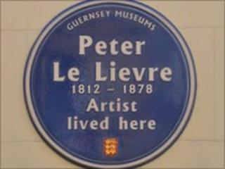 Peter Le Lievre blue plaque