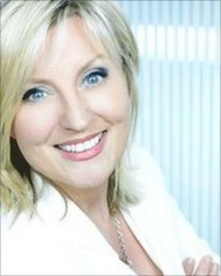 UTV presenter Lynda Bryans