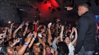 Timbaland at Culver City High School