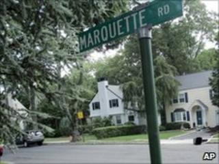 Home of alleged agents Richard and Cynthia Murphy in Montclair, New Jersey
