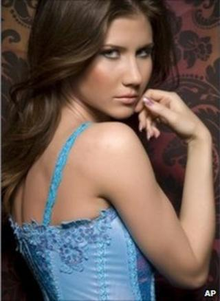 """A woman identified by reporters as Anna Chapman in an image taken from her Facebook page and marked """"added May 23"""""""