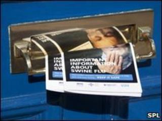 Swine flu leaflets