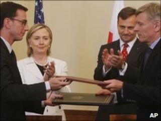 Hillary Clinton in Krakow, 3 July