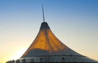 Khan Shatyr Entertainment Centre in the Astana, Kazakhstan