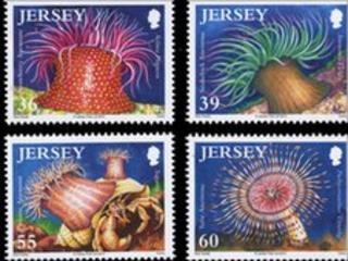Anemone stamps set