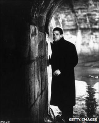 Orson Wells in 'The Third Man'