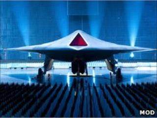 Taranis concept UCAV