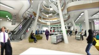How the revamped library will look
