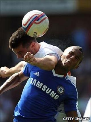 Premier League holders Chelsea take on Crystal Palace in a pre-season friendly