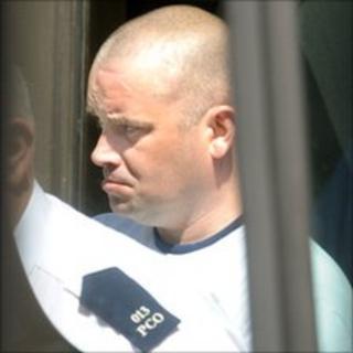 Gary Moane appeared in court in Strabane on Thursday
