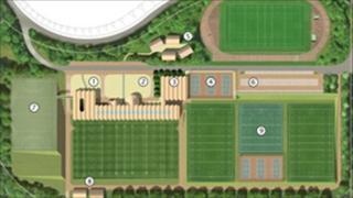 Plans of St David's Academy